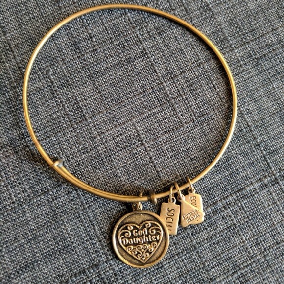 "wind & fire Jewelry - Wind & Fire ""God Daughter"" Charm Bracelet Bangle"